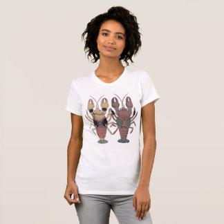 ザリガニcolor t-shirt