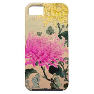 土屋光逸 de Tsuchiya Koitsu - 菊 de chrysanthème Coques iPhone 5