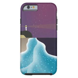 夜光虫 (エメラルドグリーンバージョン) COQUE iPhone 6 TOUGH