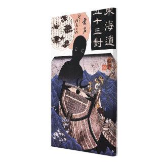 海坊主, monstre de mer japonais de 国芳, Kuniyoshi, Toiles