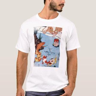 猫と金魚, chat de 国芳 et poisson rouge, Kuniyoshi, T-shirt