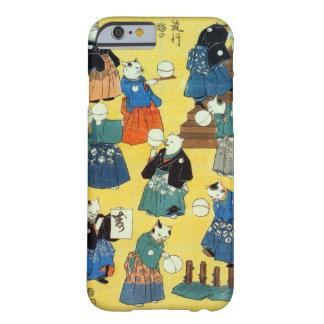 猫の曲芸師, acrobate de 国芳 des chats, Kuniyoshi, Coque iPhone 6 Barely There