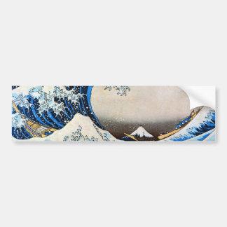 神奈川沖浪裏, grande vague de 北斎, Hokusai Autocollant Pour Voiture