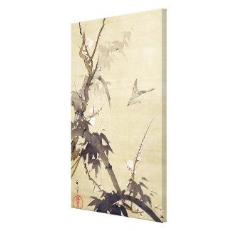 竹に鳥, oiseau de 其一 et bambou, Kiitsu, art du Japon Toiles