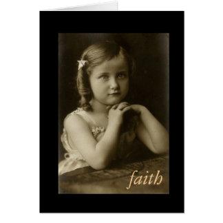018-2, carte de voeux de 11:1 d'Hébreux de foi
