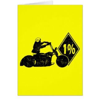 0413032011 détresse du cycliste 1% (cycliste) carte de vœux