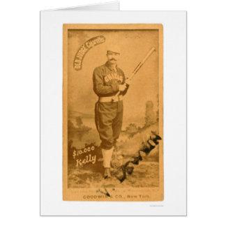 $10000 le Roi Kelly Baseball 1887 Cartes