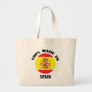 100% a fait en Espagne Grand Sac