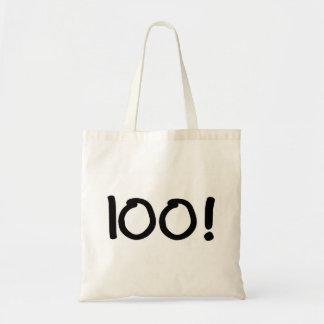 100 (bougies) sac en toile