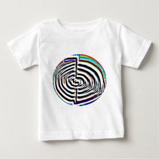 100 copies de Chakra n Chokuray de fleur T-shirt Pour Bébé