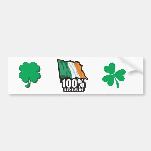 100%-IRISH ADHÉSIF POUR VOITURE
