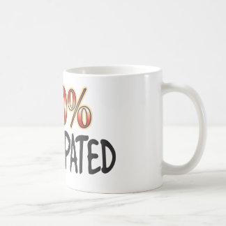 100 pour cent constipés mug