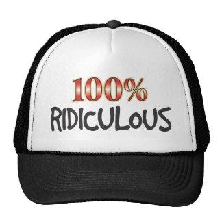 100 pour cent ridicules casquette de camionneur
