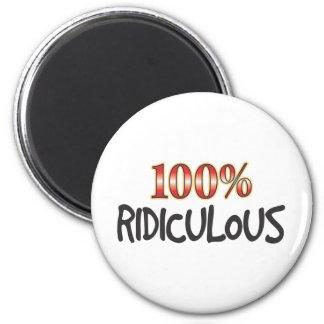 100 pour cent ridicules magnets pour réfrigérateur