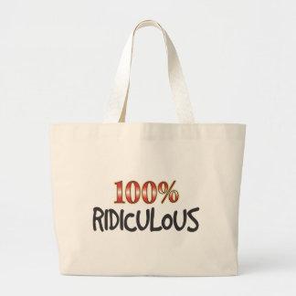 100 pour cent ridicules sacs