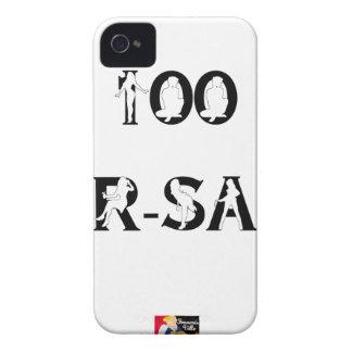 100 PUR-SANG - Jeux de Mots - Francois Ville Coques Case-Mate iPhone 4