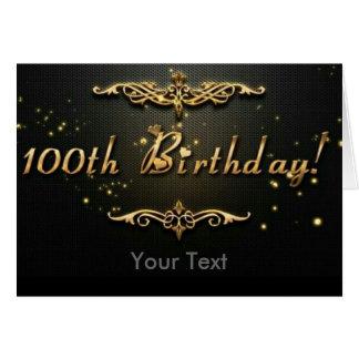 100th Anniversaire ! Carte De Vœux