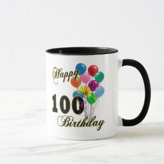 100th cadeaux d'anniversaire et habillement mugs