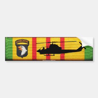 101st Division aéroportée. Adhésif pour pare-chocs Autocollant De Voiture