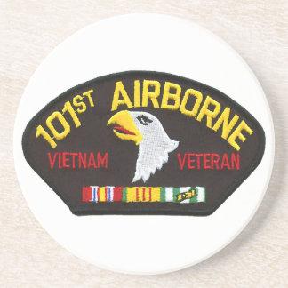 101st Vétéran aéroporté du Vietnam Dessous De Verre