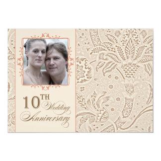 invitations 10 ans mariage faire part 10 ans mariage cartons d 39 invitation 10 ans mariage. Black Bedroom Furniture Sets. Home Design Ideas