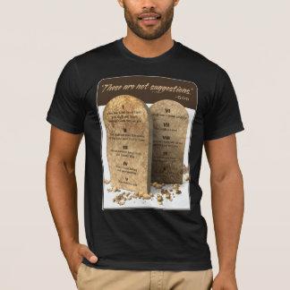 10 commandements t-shirt