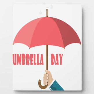 10 février - jour de parapluie - jour plaque d'affichage