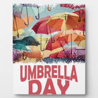 10 février - jour de parapluie - jour plaques d'affichage