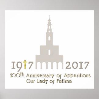 10ème Anniversaire des apparitions - Fatima Posters