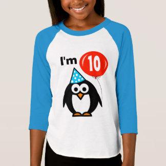 10ème pingouin de la chemise | d'anniversaire t-shirt
