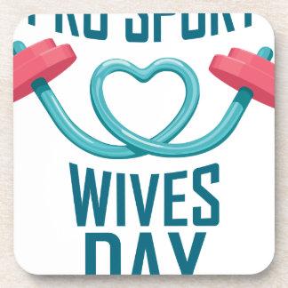 11 février - jour d'épouses de pro sports sous-bock
