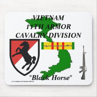 11ème Armure Cav Vietnam Mousepad 1/w Tapis De Souris