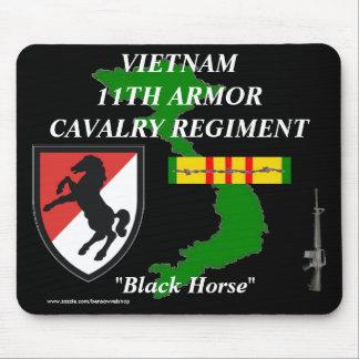 11ème Armure Cav Vietnam Mousepad 2/b Tapis De Souris