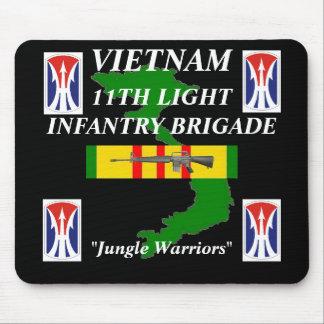 11ème FNI légères Vietnam Mousepad 2/b Tapis De Souris