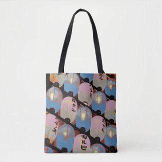 124 - Laterns de Japonais de sac fourre-tout à