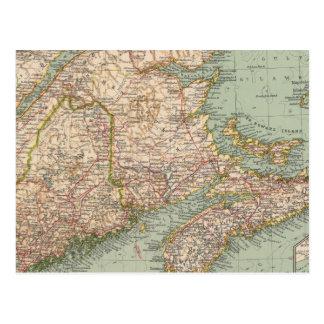 129 Maine, la Nouvelle-Écosse, Nouveau Brunswick, Carte Postale