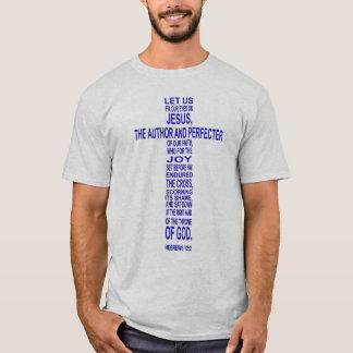 12:2 d'Hébreux - bleu T-shirt