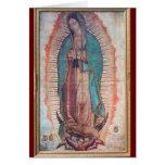 12 décembre   notre Madame de Guadalupe Carte De Vœux