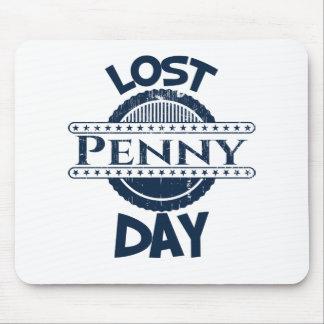12 février - jour perdu de penny tapis de souris