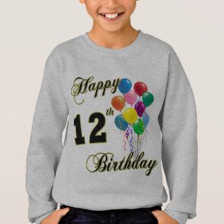 12ème T-shirt heureux d'anniversaire
