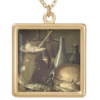 131-0058519/1 toujours la vie avec des poissons, d collier plaqué or