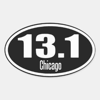 13,1 Autocollant de Chicago