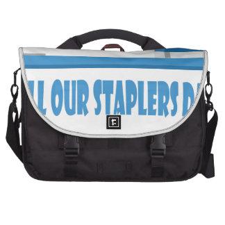 13 mars - remplissez notre jour d'agrafeuses sac ordinateur portable