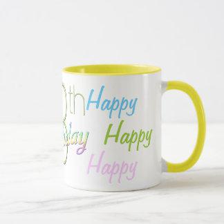 13ème Tasse heureuse d'anniversaire