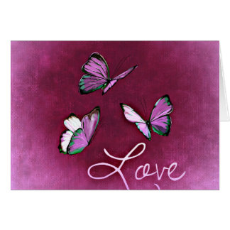 14 février : amour - carte de vœux