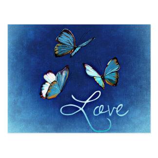 14 février : amour - cartes postales