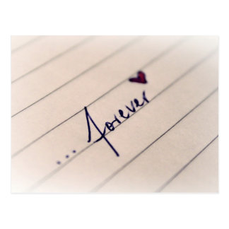 14 février : Amour pour toujours - Carte Postale