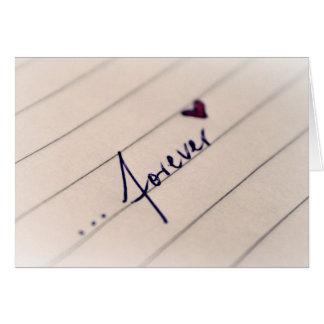 14 février : amour pour toujours - cartes de vœux