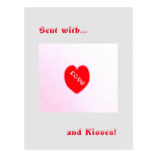 14 février carte postale de Valentine