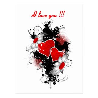14 février : Je t'aime - Cartes Postales